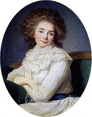 Françoise Eléonore Dejean de Manville - The Comtesse de Sabran (before 1787) by Élisabeth Vigée Le Brun