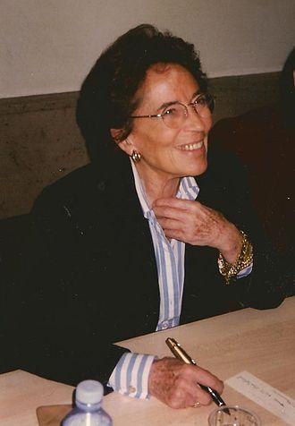 Françoise Giroud - Françoise Giroud in 1998