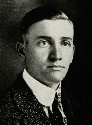 Frank Bridges - Bridges pictured in The Round-Up 1921, Baylor yearbook