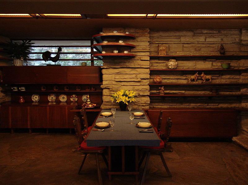 File Frank Lloyd Wright Fallingwater Interior 6 Jpg