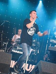 Frankmusik tritt am 18. Juli 2009 beim Lovebox Festival in London auf