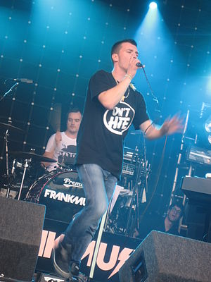 Frankmusik - Frankmusik performing at Lovebox Festival in London on 18 July 2009