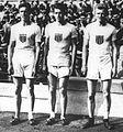 Fred Kelly, James Wendell, Martin Hawkins 1912.jpg