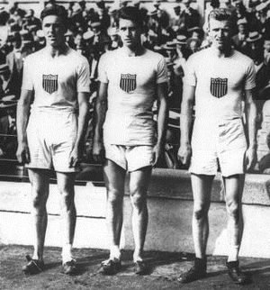 James Wendell - Fred Kelly, James Wendell and Martin Hawkins at the 1912 Olympics