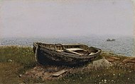 Frederic Edwin Church, Abandoned boat.jpg