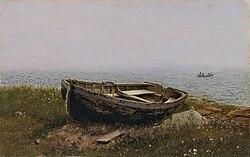 Frederic Edwin Church, Abandoned boat.jpg