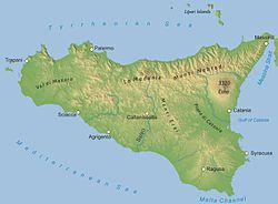 Cartina Sicilia Fisico Politica.Geografia Della Sicilia Wikipedia