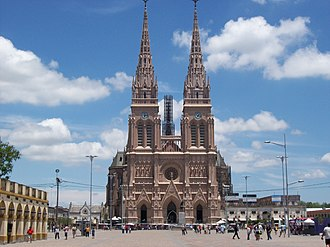 Our Lady of Luján - Basilica of Our Lady of Luján.