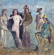 Fresco - Wall Fragment with the Judgment of Paris.jpg