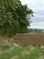 Freshly ploughed field, Rye Hill, Walwick - geograph.org.uk - 244744.jpg