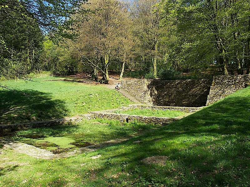Freshwater spring, Mont Beuvray