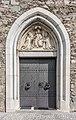 Friesach Stadtgrabengasse 5 Ordenskirche hl Nikolaus W-Portal 13092017 1061.jpg