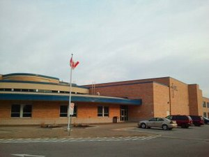 Catholic Central High School (London, Ontario) - Image: Front Of CCH