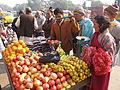 Fruits Stall - Gangasagar Fair Transit Camp - Kolkata 2012-01-14 0847.JPG