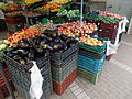 Fruits and vegetables. Market place. - Szabadság Square, Gödöllő.JPG