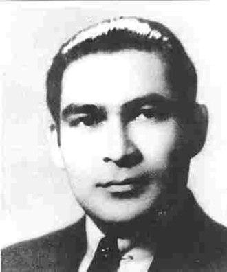 Fulgencio Batista - A young Batista