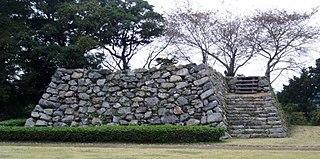 castle ruins in Hamamatsu, Japan