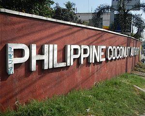 Philippine Coconut Authority - Facade