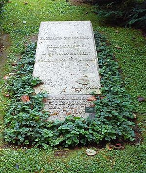 Richard Adolf Zsigmondy - Göttingen, grave Zsigmondy's