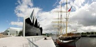 Glasgow Museum of Transport - The new Glasgow Museum of Transport (Riverside Museum)