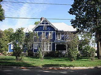 National Register of Historic Places listings in Cass County, Michigan - Image: GW Jones House