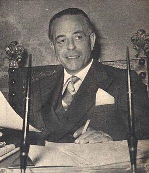 Gaetano Martino - Gaetano Martino in 1954.