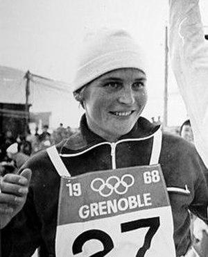 Galina Kulakova - Kulakova at the 1968 Winter Olympics