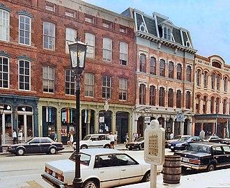 Strand Historic District - 2300 block, The Strand