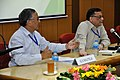 Ganga Singh Rautela and Pramod Kumar Jain - Meeting with Participants - VMPME Workshop - Science City - Kolkata 2015-07-16 8973.JPG