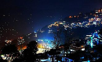 East Sikkim district - Image: Gangtok night amit mitra