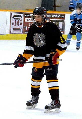 General Amherst High School - Bulldogs player during 2014-15 season.