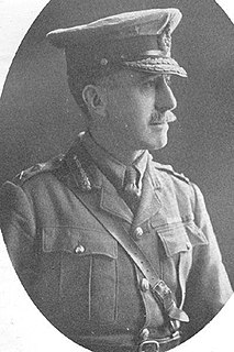 Frederick Wing British First World War general killed in action