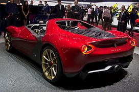 ferrari pininfarina sergio concept \u2014 wikipédiageneva motorshow 2013 pininfarina sergio left rear view jpg