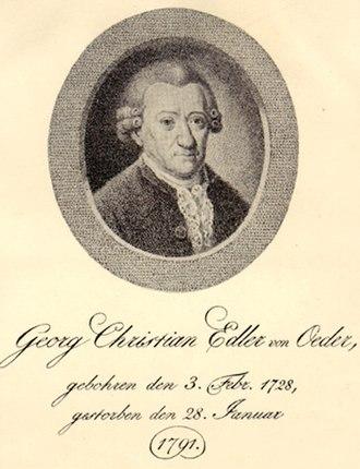 University of Copenhagen Botanical Garden - Georg Christian Oeder