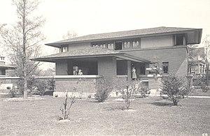 George Barton House - Barton House c. 1905