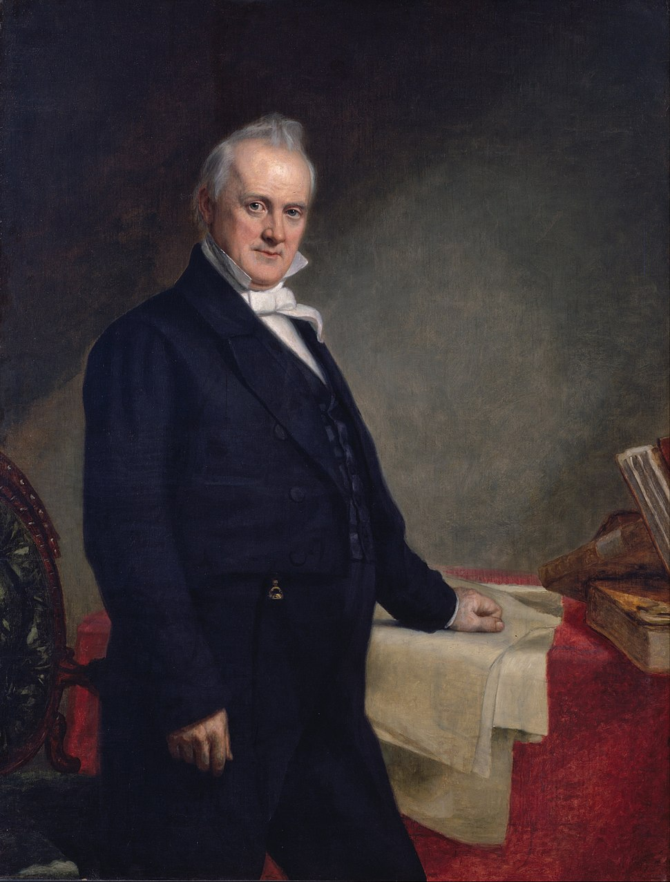 George Peter Alexander Healy - James Buchanan - Google Art Project