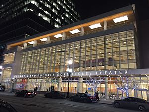 Eccles Theater - Image: George S. and Dolores Doré Eccles Theater