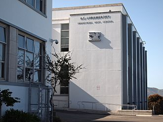 George Washington High School (San Francisco) - A. E. Lubamersky Industrial Arts Center