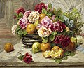Georges Jeannin Still life of roses and citrus fruit.jpg