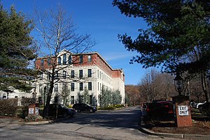 Georgiaville, Rhode Island - Georgiaville Mill