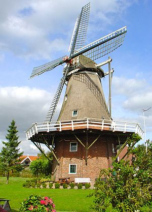 Thesinge - Gristmill Germania