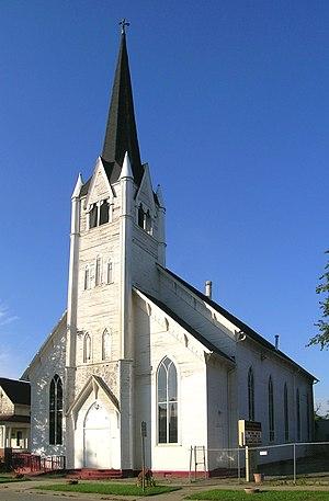 Spier & Rohns - Image: Gethsemane Evangelical Lutheran Church Detroit MI