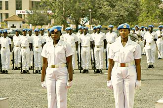 Peacekeeping - Ghanaian women serve in UN Peacekeeping