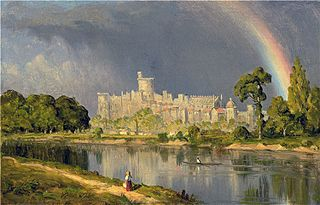 Study of Windsor Castle