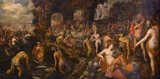 Gillis van Valckenborch - Banquet of Gods