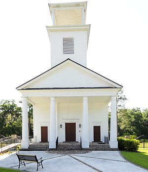 National Register of Historic Places listings in Jasper County, South Carolina - Image: Gillisonville Baptist Church