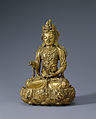 Gilt-bronze Seated Avalokitesvara Bodhisattva.jpg
