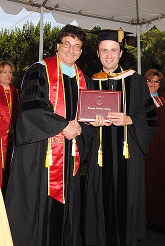 Doctor of Musical Arts - A graduate student from the University of Southern California receiving his Doctor of Musical Arts degree in 2011.