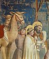 Giotto di Bondone - No. 18 Scenes from the Life of Christ - 2. Adoration of the Magi (detail) - WGA09196.jpg