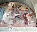 Giovanni da san giovanni, serie dei miracoli di fontenuova, 1630, 09,2 fanciullo illeso nel fuoco.jpg